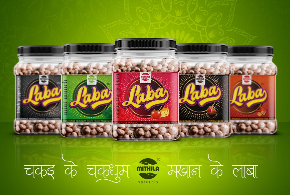 Laba® - Flavoured Roasted Makhana